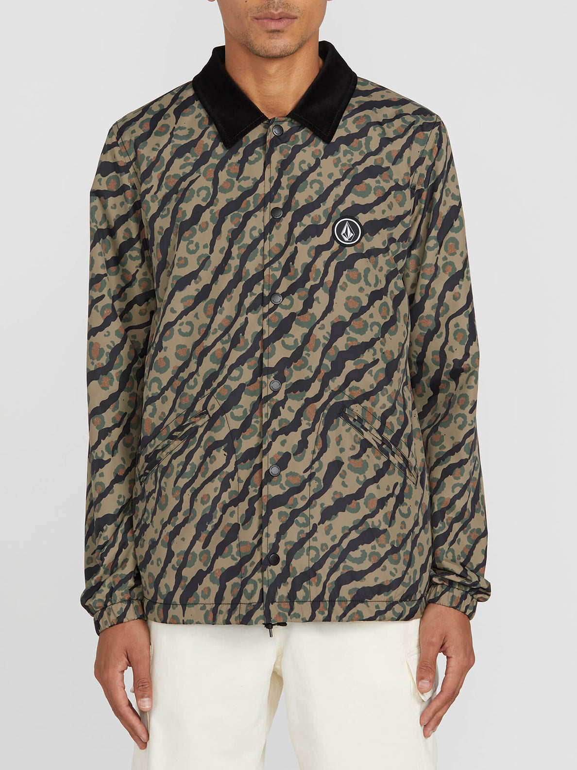 Brews Coach Jacket Camouflage (A1512006_CAM) [F]