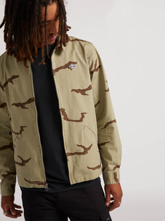 Burkey Jacket - Mossstone