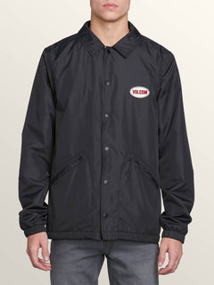 Brews Coach Jacket - Black Combo