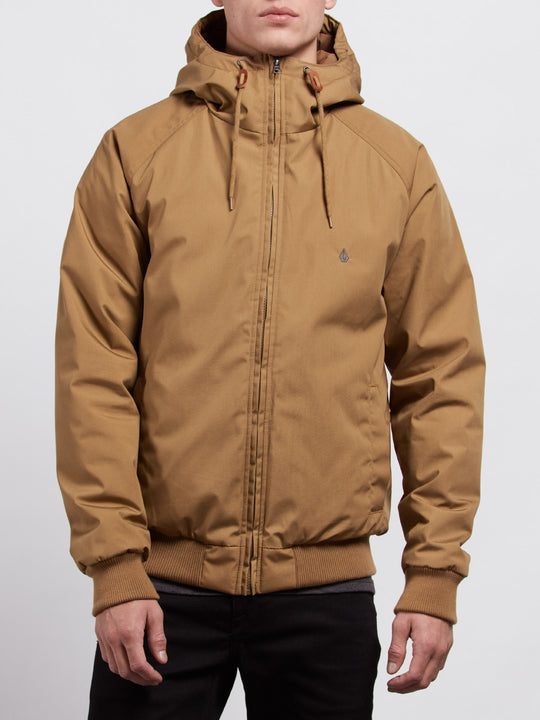 Hernan Jacket - Burnt Khaki