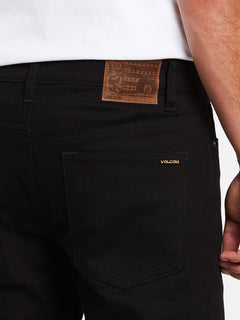 Solver Modern Fit Jeans - Black On Black (A1931503_BKB) [4]