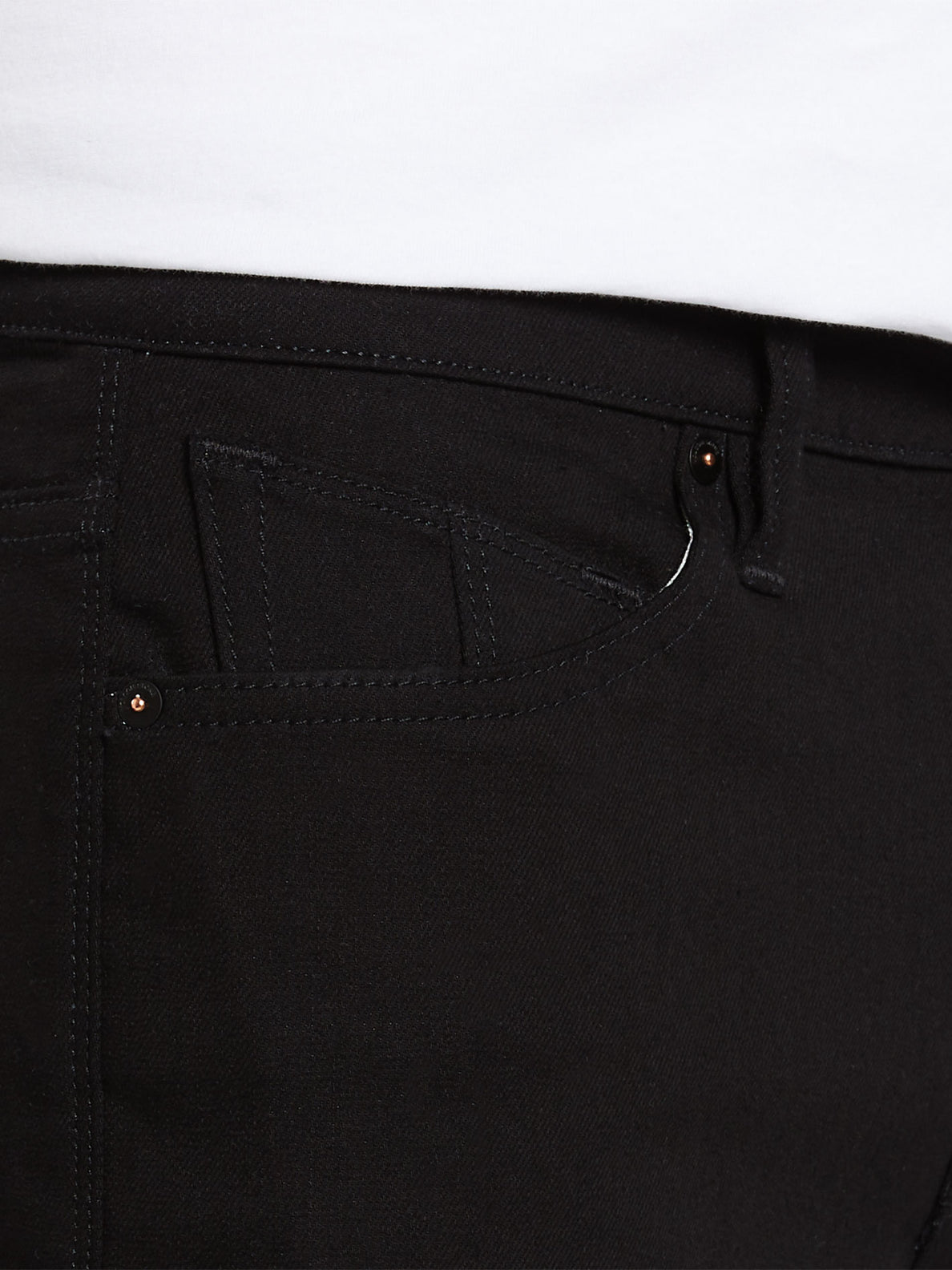 Solver Modern Fit Jeans - Black On Black (A1931503_BKB) [5]