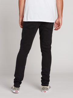 2X4 Tapered Skinny Fit Jeans - Ink Black (A1931610_INK) [2]