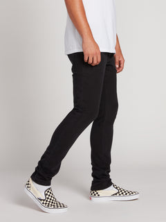 2X4 Tapered Skinny Fit Jeans - Ink Black (A1931610_INK) [3]