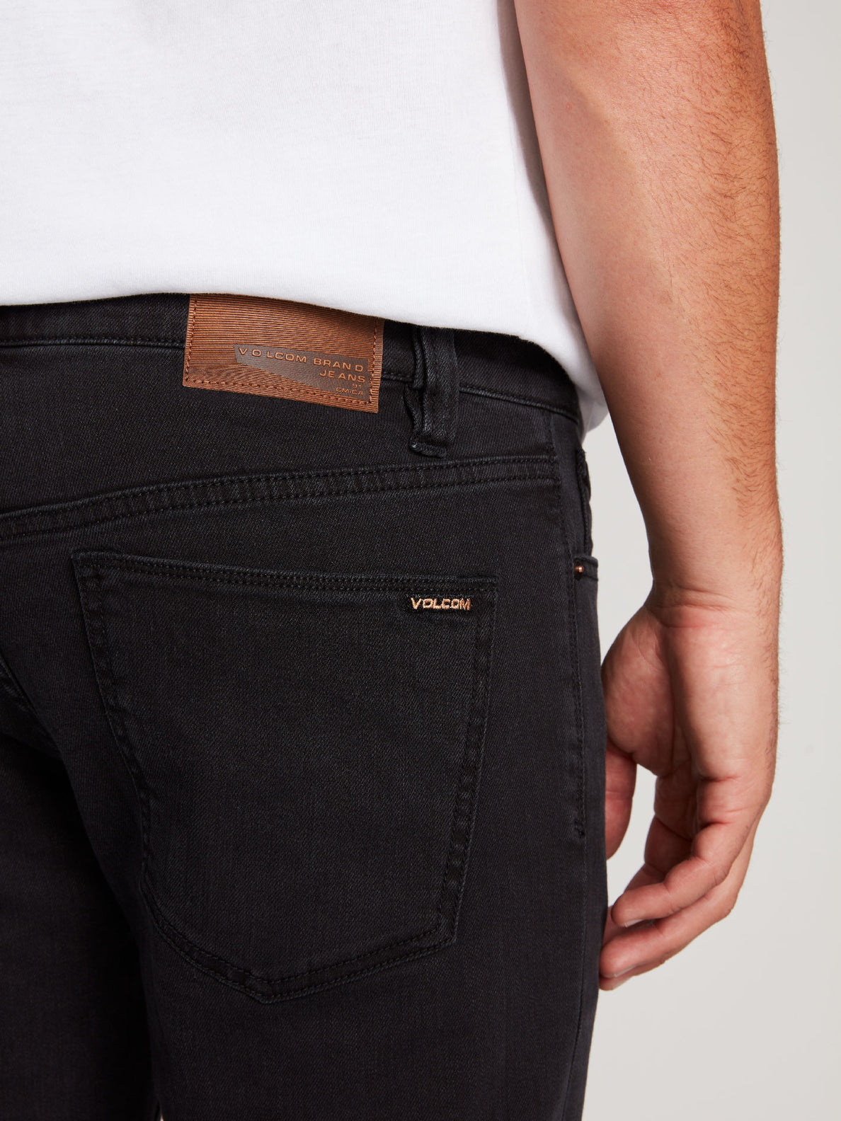 2X4 Tapered Skinny Fit Jeans - Ink Black (A1931610_INK) [4]