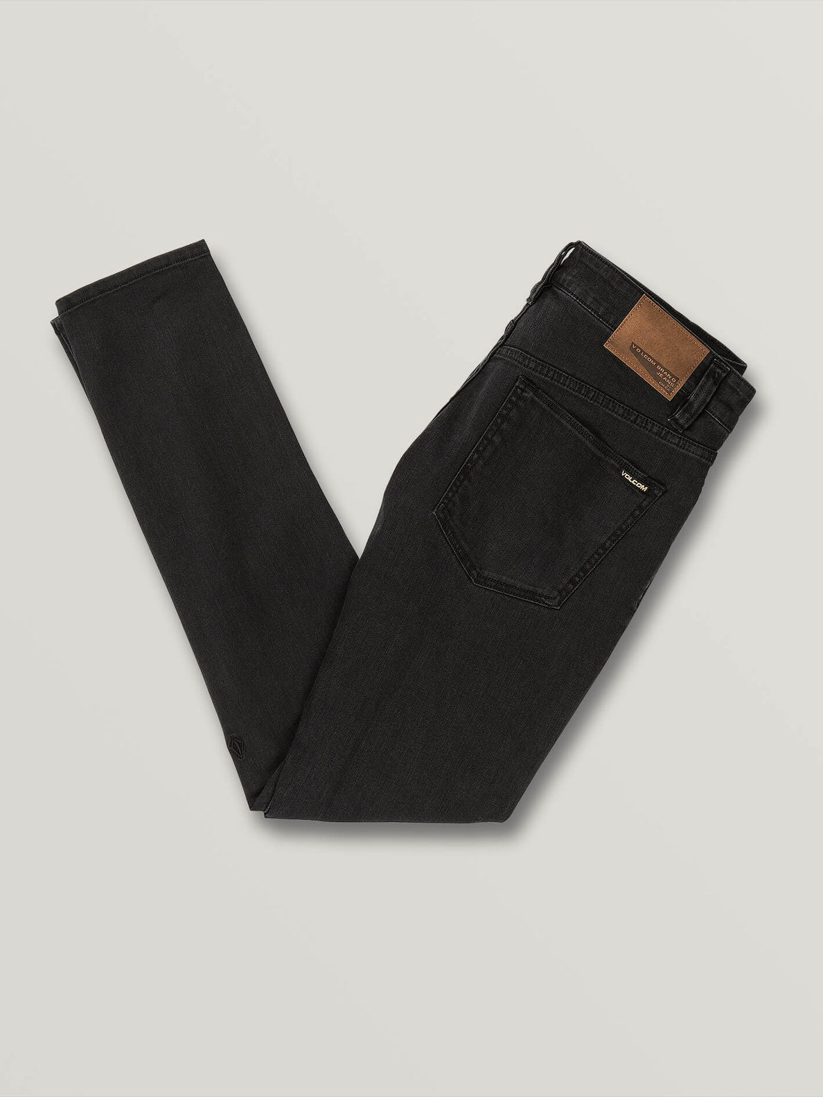 2X4 Tapered Skinny Fit Jeans - Ink Black (A1931610_INK) [B]