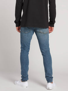 2X4 Tapered Skinny Fit Jeans - Seventies Indigo (A1931610_SVI) [3]