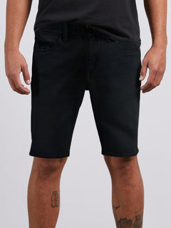 Solver Denim Shorts 19 - Coated Indigo Wash