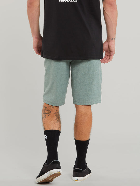 Frickin Surf N' Turf Static 2 Hybrid Shorts - Fir Green