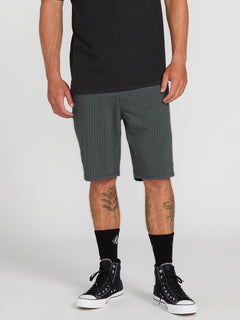 Frickin Surf N' Turf Mix Hybrid Shorts - Dark Charcoal (A3212003_DCR) [1]