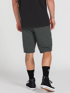 Frickin Surf N' Turf Mix Hybrid Shorts - Dark Charcoal (A3212003_DCR) [2]