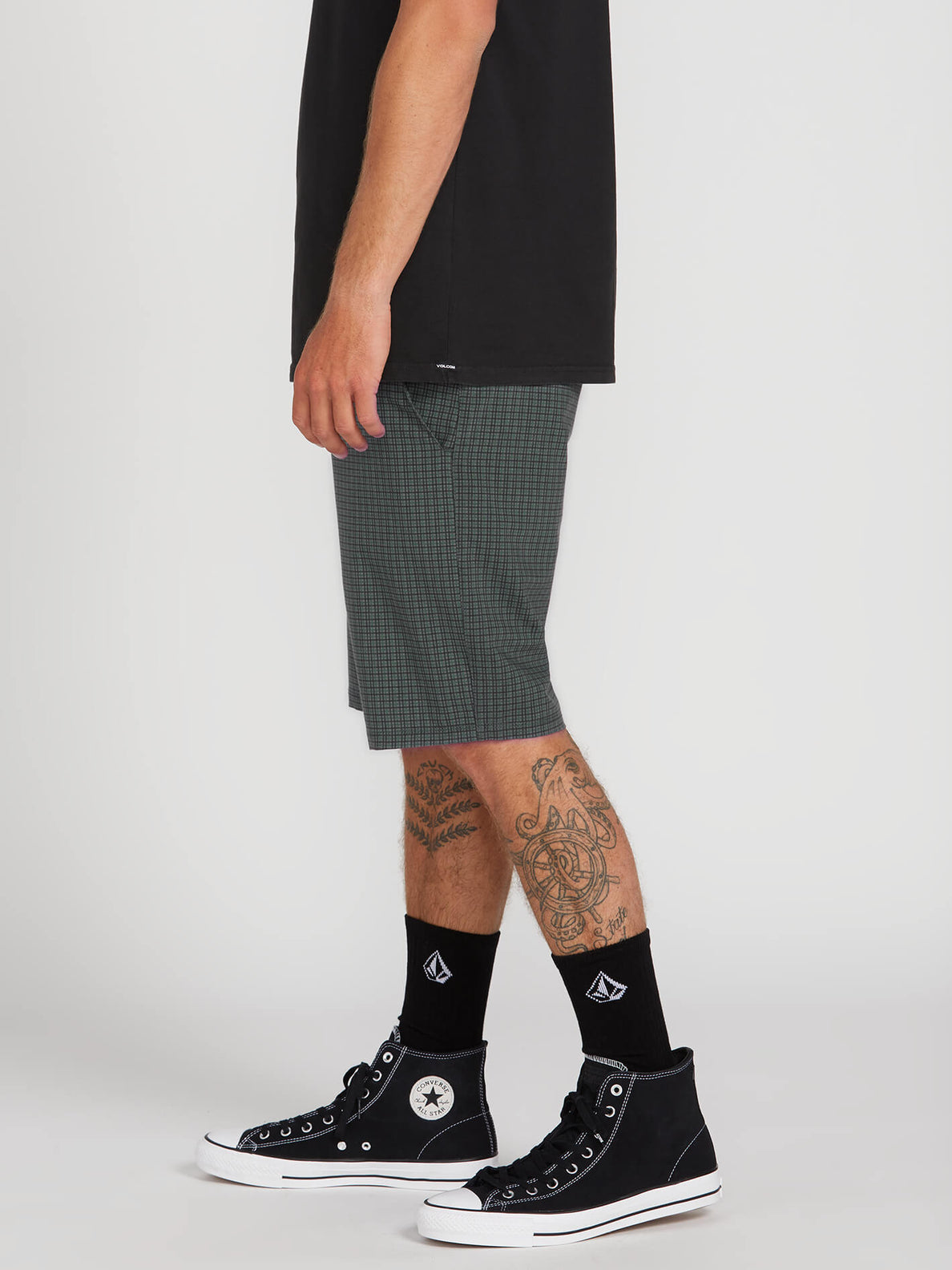 Frickin Surf N' Turf Mix Hybrid Shorts - Dark Charcoal (A3212003_DCR) [3]