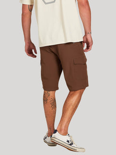 Surf N' Turf Dry Cargo Hybrid Short - Vintage Brown