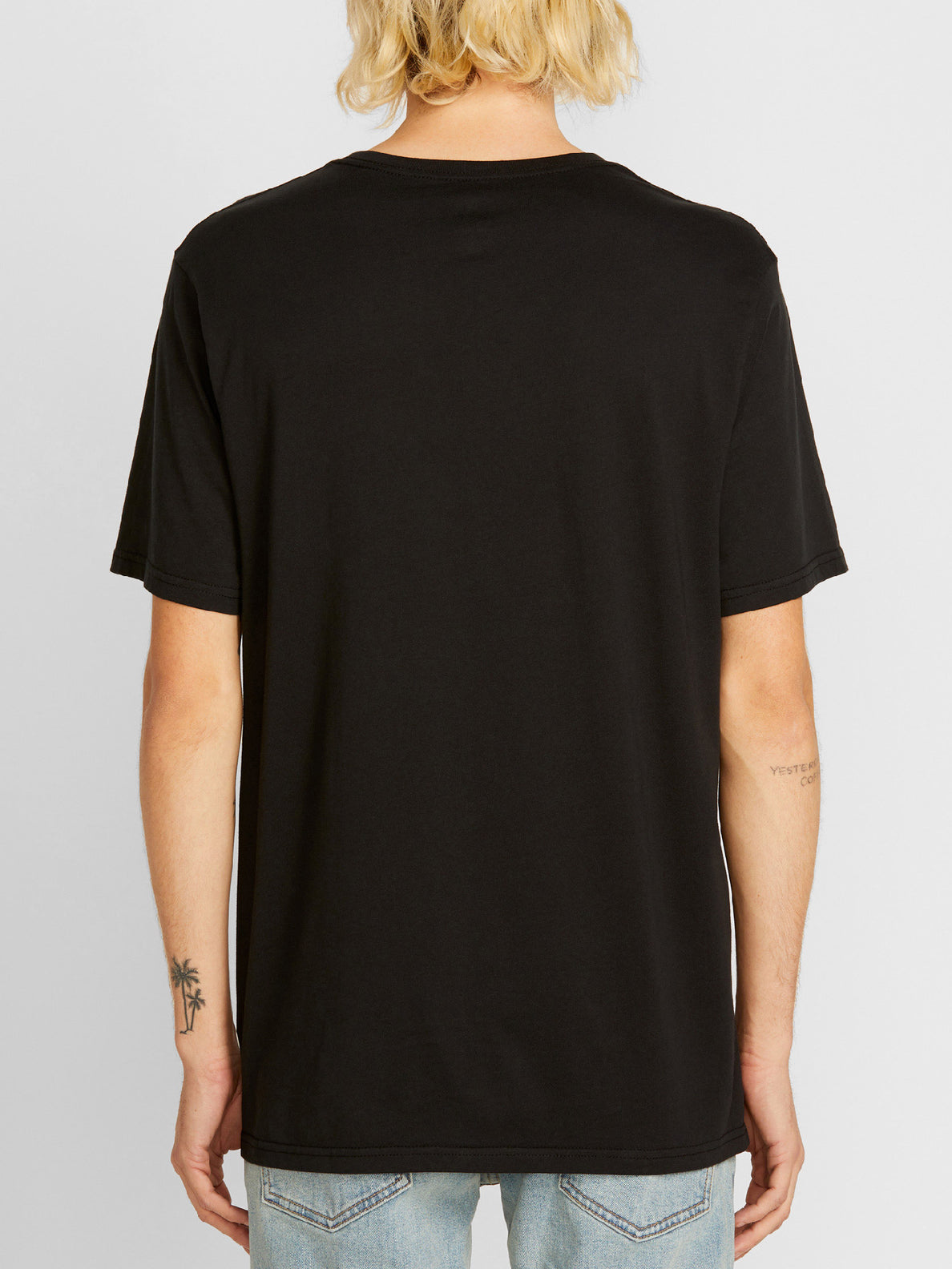 Circle Short Sleeve Tee - Black
