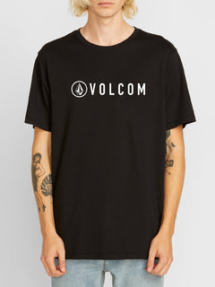 Header Short Sleeve Tee - Black