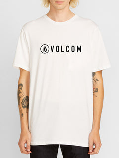 Header Short Sleeve Tee - White