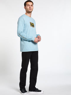 Cj Collins L/s Tee Cool Blue (A3612001_CLU) [11]