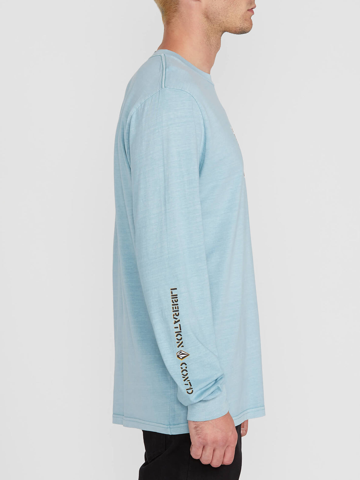 Cj Collins L/s Tee Cool Blue (A3612001_CLU) [1]