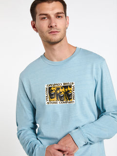 Cj Collins L/s Tee Cool Blue (A3612001_CLU) [20]