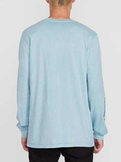 Cj Collins L/s Tee Cool Blue (A3612001_CLU) [B]