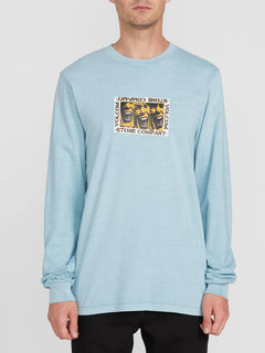 Cj Collins L/s Tee Cool Blue (A3612001_CLU) [F]