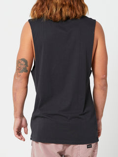 Solid Muscle Tank - Black (A3742073_BLK) [B]