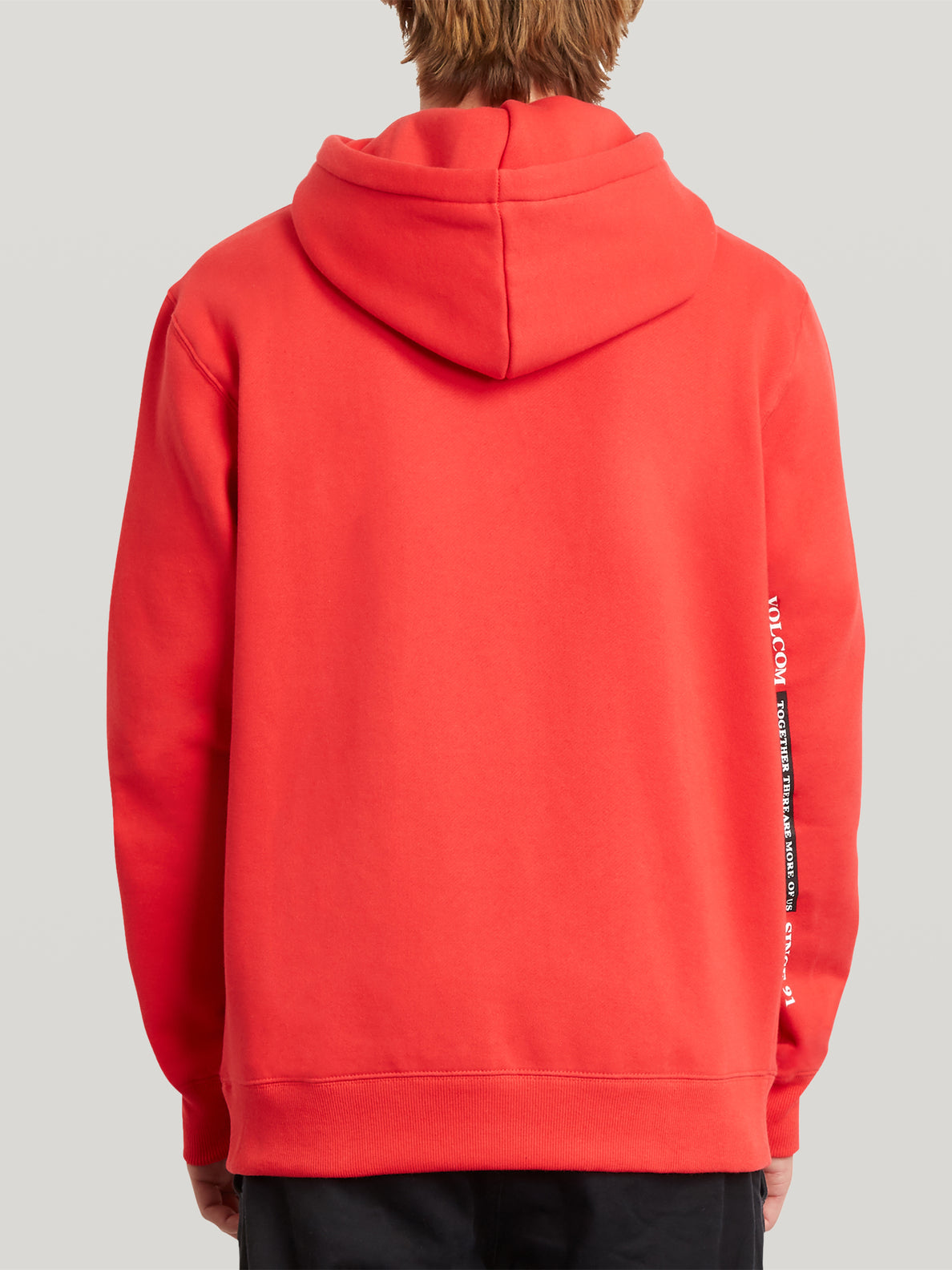 Merick Pullover - Fiery Red