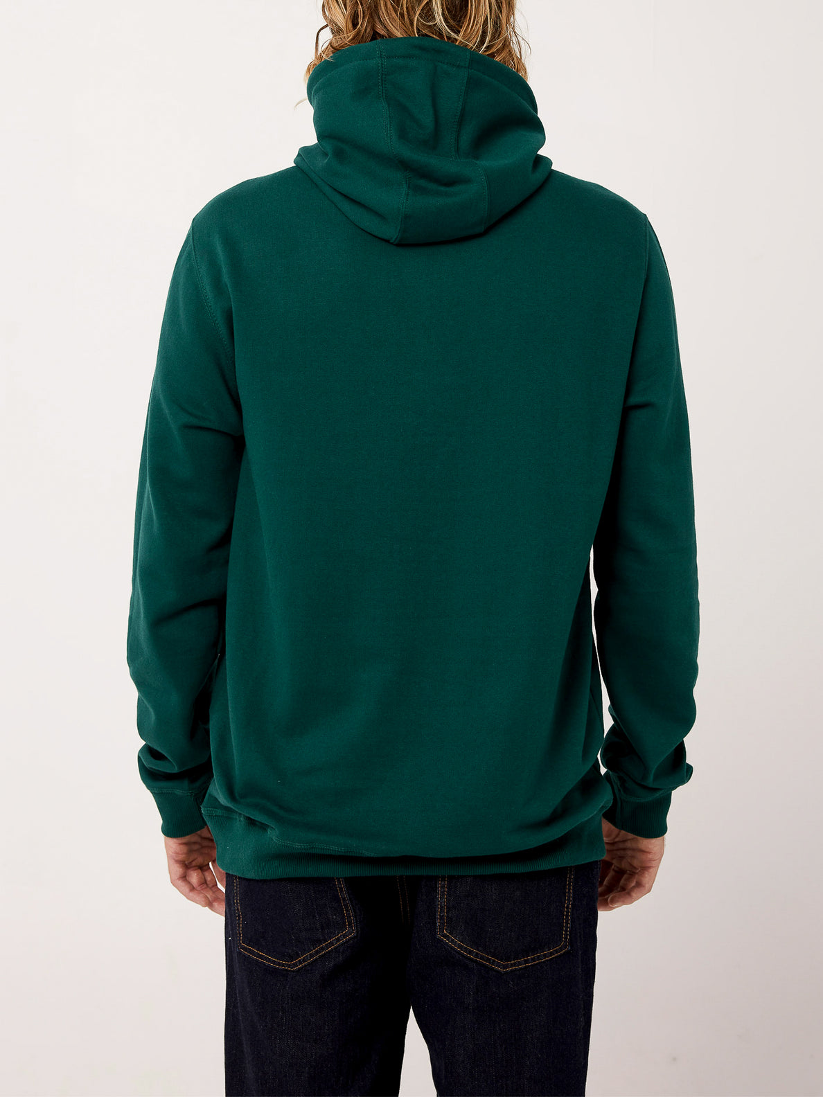 Header Pullover Fleece - Evergreen