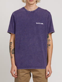 Progressive Short Sleeve Tee - Dark Purple