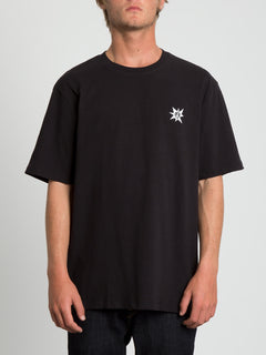 A.P. 2 Boxy Short Sleeve Tee - Black (Unisex)
