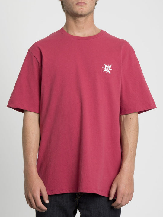A.P. 2 Boxy Short Sleeve Tee - Ruby Red (Unisex)