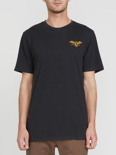 Flying Stone Short Sleeve Tee Black (A4341974_BLK) [F]
