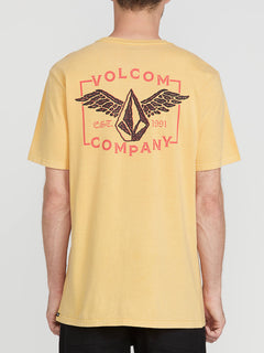 Flying Stone Short Sleeve Tee Honey Gold (A4341974_HGD) [B]