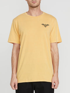 Flying Stone Short Sleeve Tee Honey Gold (A4341974_HGD) [F]