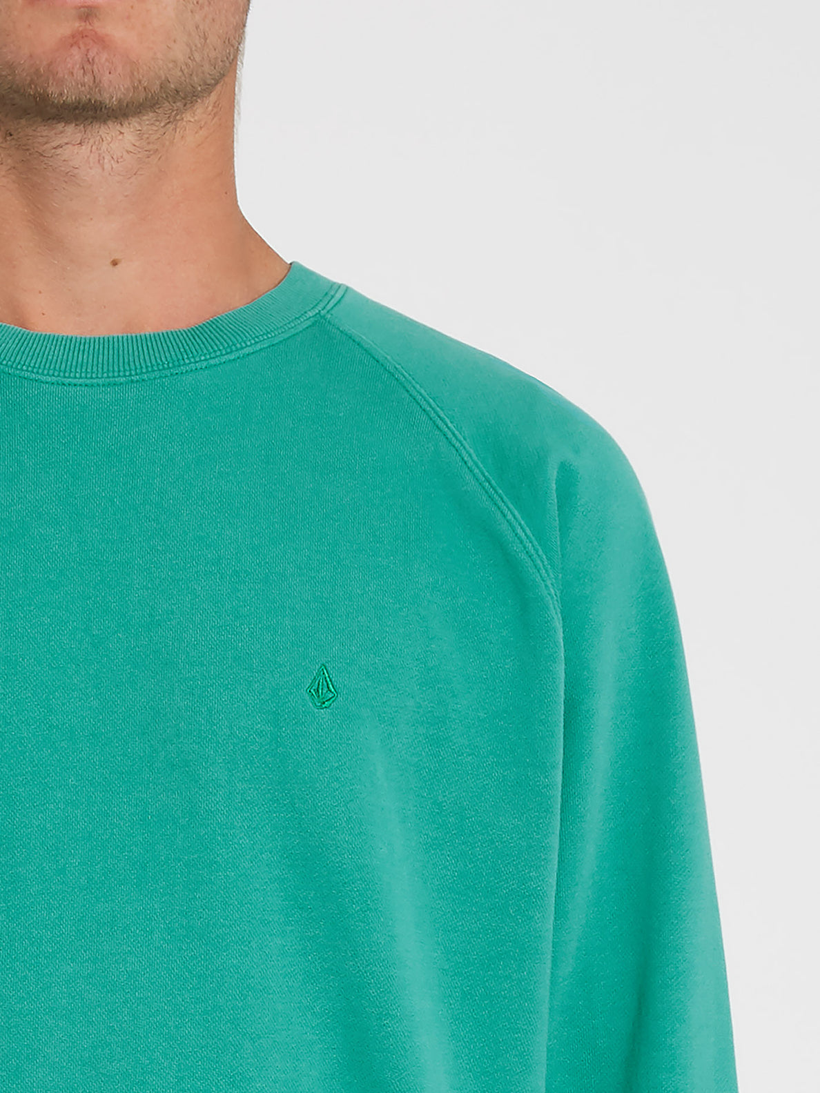 Freeleven Crew Fleece Synergy Green (A4612101_SYG) [1]