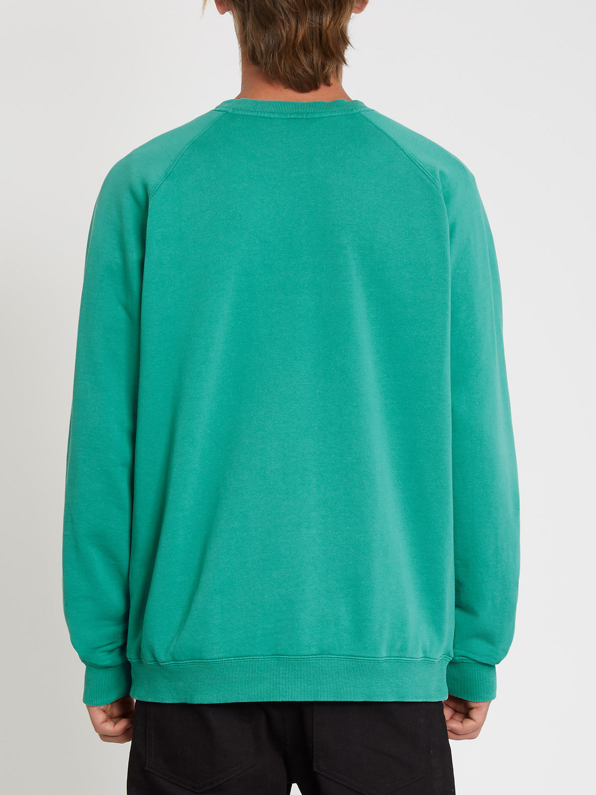 Freeleven Crew Fleece Synergy Green (A4612101_SYG) [B]