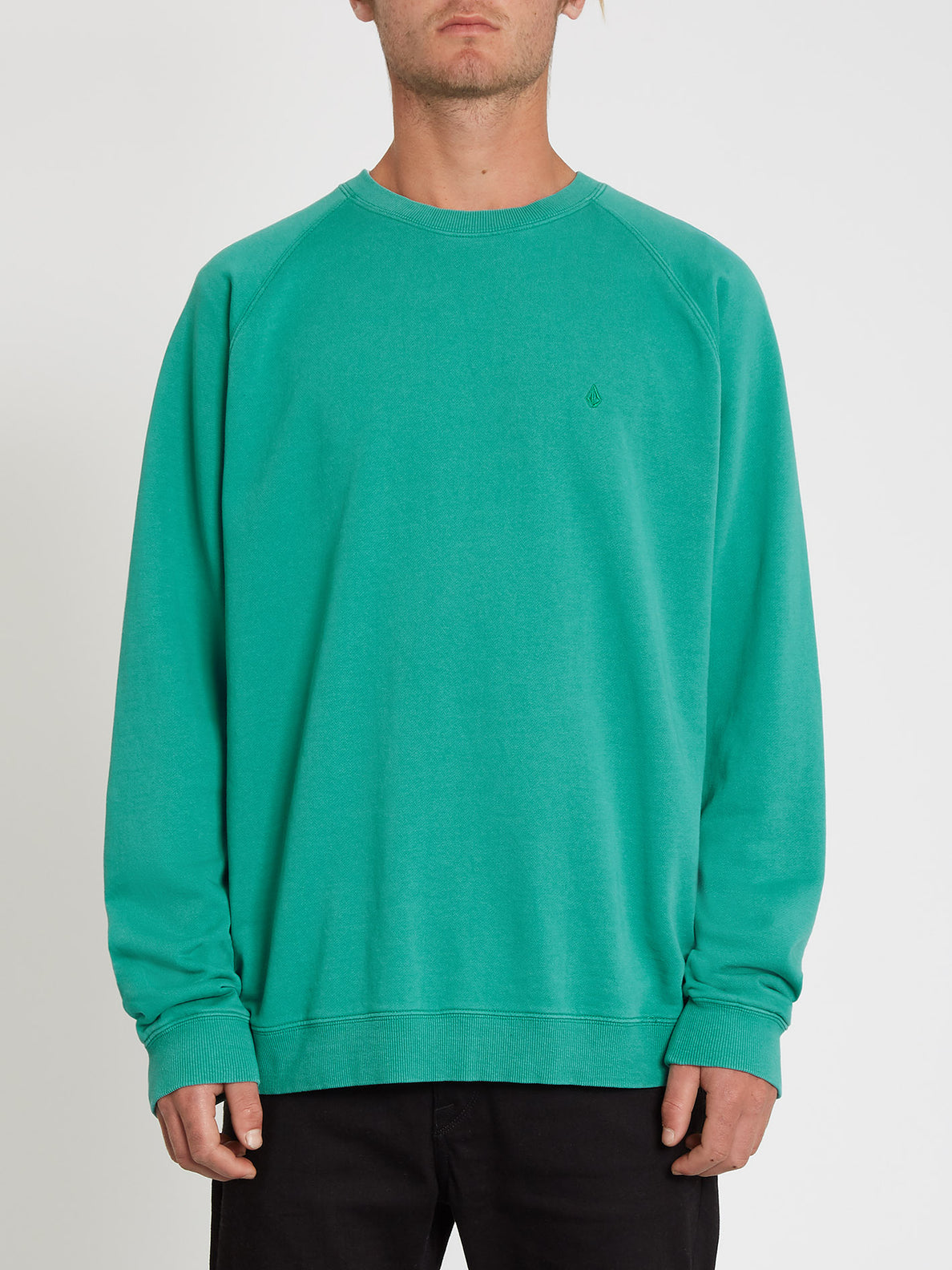 Freeleven Crew Fleece Synergy Green (A4612101_SYG) [F]