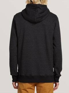 Single Stone Zip Hoodie - Heather Black