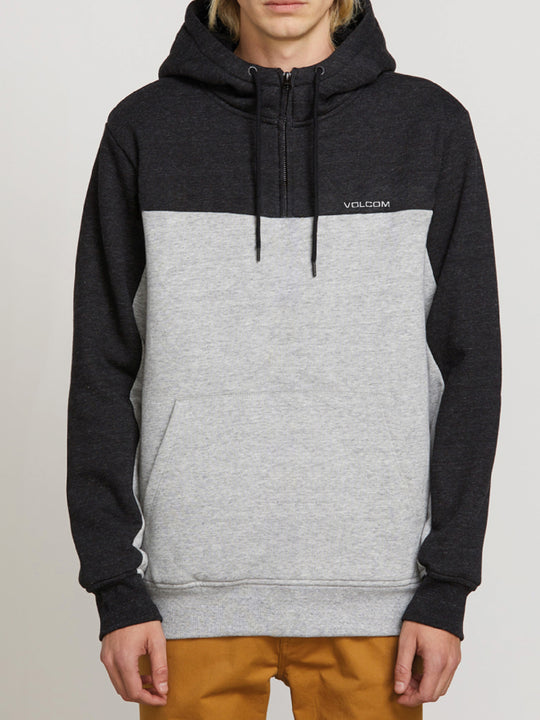 Single Stone Quarter Zip Hoodie - Storm