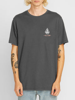 Blair Stone Short Sleeve Tee - Asphalt Black