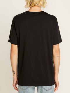 Solid Short Sleeve Tee - Black (A5011530_BLK) [B]