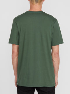 Solid Short Sleeve Tee - Cilantro Green