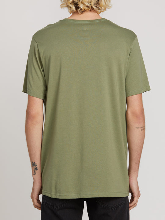 Solid Short Sleeve Tee - Dusty Green