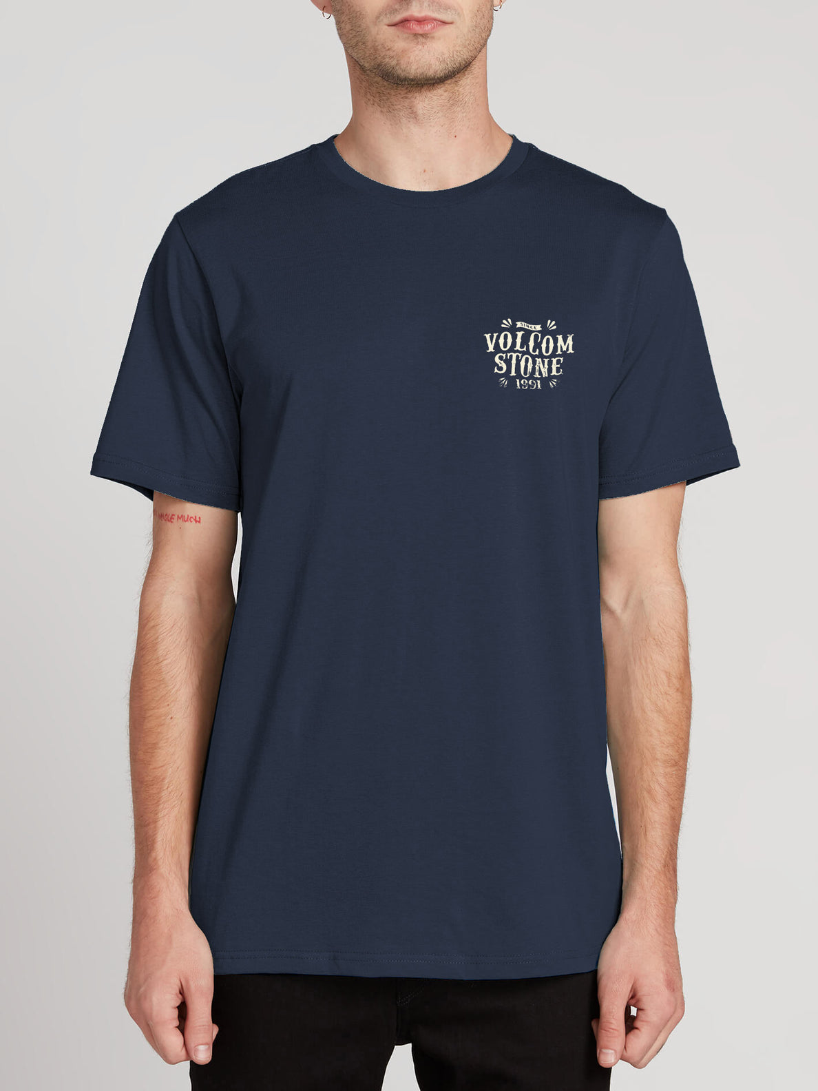 Kally Short Sleeve Tee - Navy
