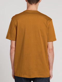 Solid Short Sleeve Tee - Rust