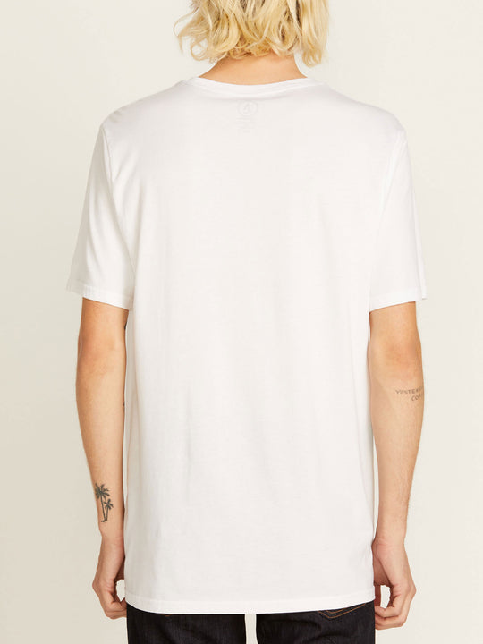Solid Short Sleeve Tee - White