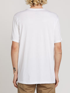Super Clean Short Sleeve Tee - White
