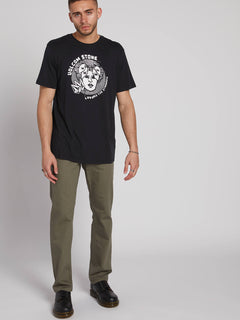 Mental State Short Sleeve Tee Black (A5031902_BLK) [1]