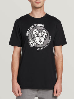 Mental State Short Sleeve Tee Black (A5031902_BLK) [F]