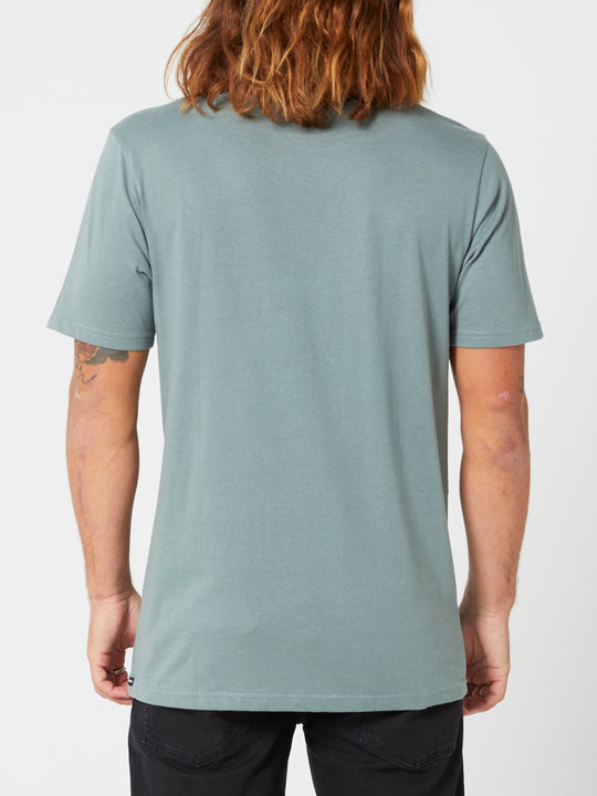 Solid Short Sleeve Tee - Fir Green (A5032074_FIR) [B]